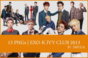 [PNG] EXO-K Ivy Club 2013 by sarielk