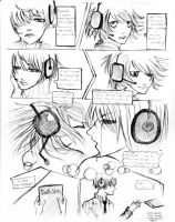 DN 1page doujin: Last Kiss by unsolvedenigma