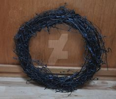 Halloween Snake Wreath by FarTooManyIdeas