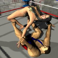 mixed wrestling Romero 2 by cattle6