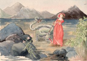 St George without the dragon by PetStudent