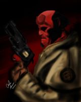 Hellboy by King-Arsalan-Monawar