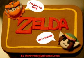 Game grumps decorative box: Zelda by Skyelark