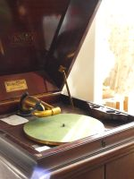 victrola record player vintage by fotophi