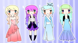 Dressy adopts by Lovely-Watson
