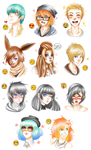 Emoji challenge - Batch 3 by AderiAsha