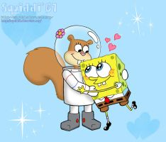 SpongeBob and Sandy by StePandy
