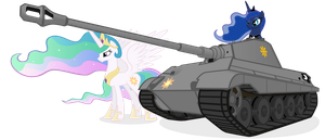 The Royal Sisters Find a Tank Fit For Royalty by MrLolcats17