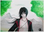 Contest entry Itachi by Itachi-girl214