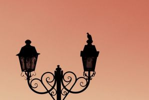 city. street lamps 1.0 by epiloguetoI