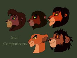 Scar Comparisons by walvin11