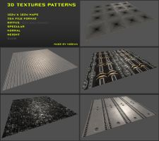 Free 3D textures pack 05 by Nobiax