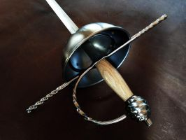 Cup Hilt Rapier and Dagger set (5) by Danelli-Armouries
