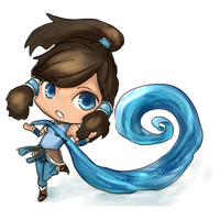 Korra Chibi by Scarlet-Songstress