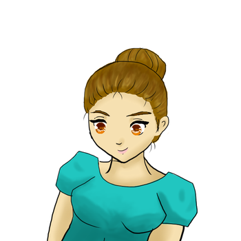 First try for wacom intous in paint tool sai by Adouz