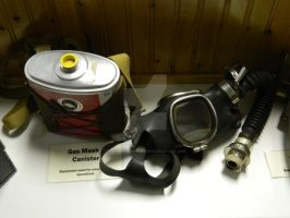 Gas mask and canister by ThroughTheEyePiece