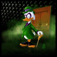Scrooge McDuck The Ridder by ScudSoul