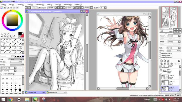 WIP Livestream On: Kizuna AI (Ended) by Prophosphere