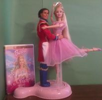 Barbie in the Nutcracker: Clara, Prince and Dvd by sailormoonhp4life