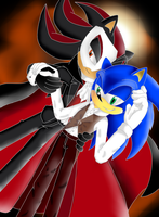 ShadowXSonicClub's Halloween Contest 2013 Ent by EliHedgie95