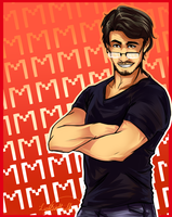 Markiplier Poster by LightsintheSkye
