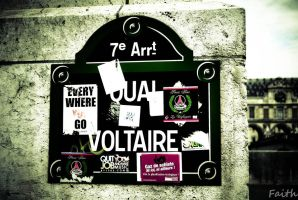 Quai Voltaire by HighViolet