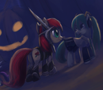 NIghtmare Night time by Raikoh-illust