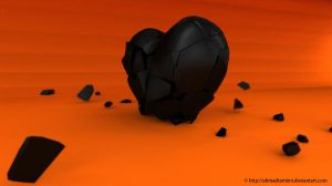 broken heart by saxeh