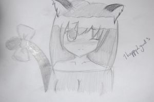 kitty girl by 1happy2gurl3