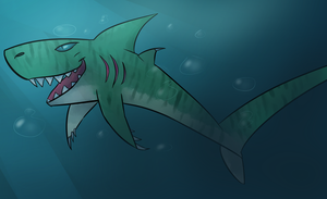 Shark Lusus In Detail by mechafone