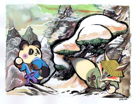 Chinese Animals by Pocketowl