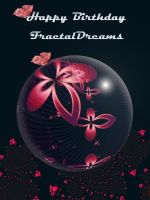 happy birthday FractalDreams by evilpj