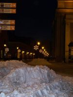 Torun in snow 6 by xxtasiaxx
