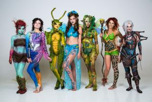 Salt Lake Bodypaint League by eatlizzardsdaily