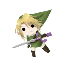 Link Chibi by ShadowShyna
