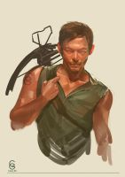 The Walking Dead``````Daryl by MANGBO