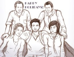 Happy Uncharted Xmas by Rinkuchan27