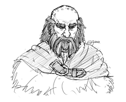 Hobbit: Dwalin by Eleaun