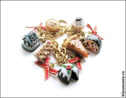 Bracelet Christmas Sweets by allim-lip