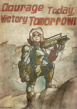 Fallout: Courage Today by gilamasan