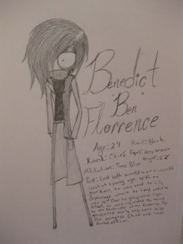 Benedict Florrence by catfreak312