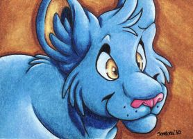 ACEO- Shinx by SombraStudio
