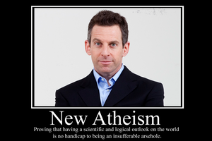 New Atheism Demotivator by Party9999999
