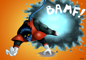 Nightcrawler [BAMF!] by KalliasTheGreat