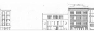 14th St. - Initial Auto Cad Facade Illustration by Nayias01