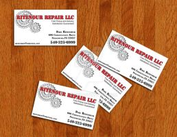 Ritenour - Business Card by misfiger