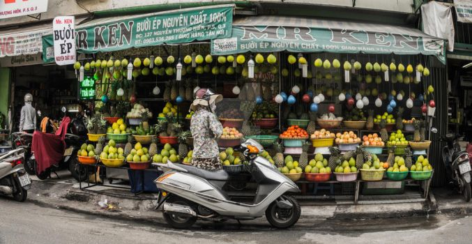 Fruit Stall by votra