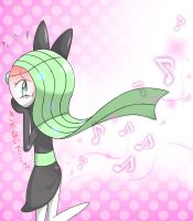 Meloetta is musical in every way (even her farts) by soniclover562