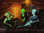 CP--Girl's Night Out by Zerna