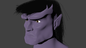 Goliath's face WIP2 by Warrior-Silverbolt